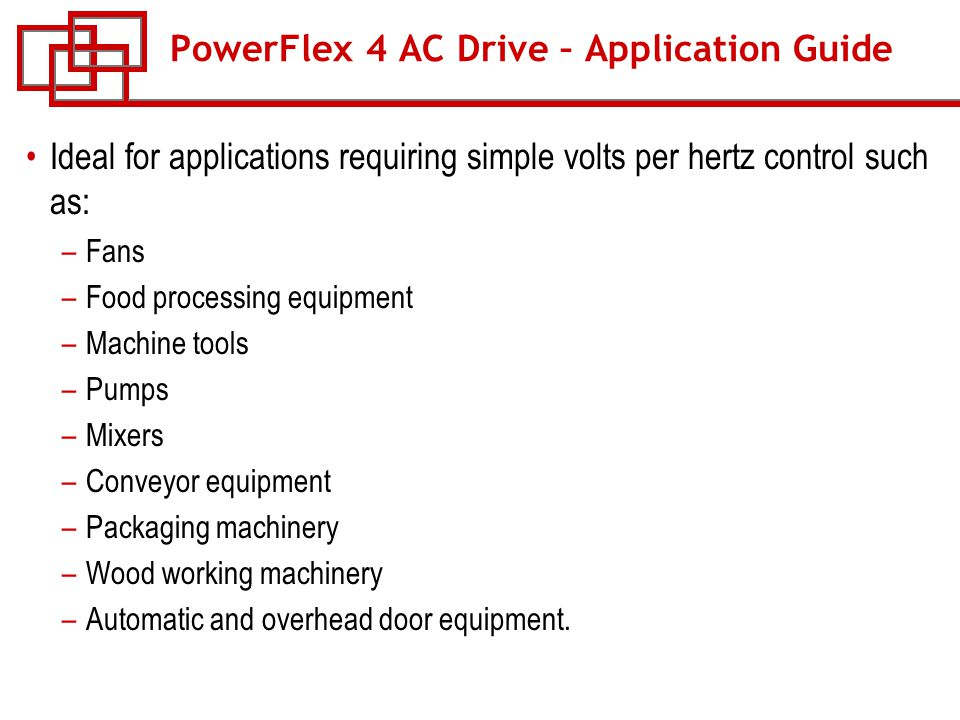 course w 53 powerflex ac drives ppt 12 powerflex