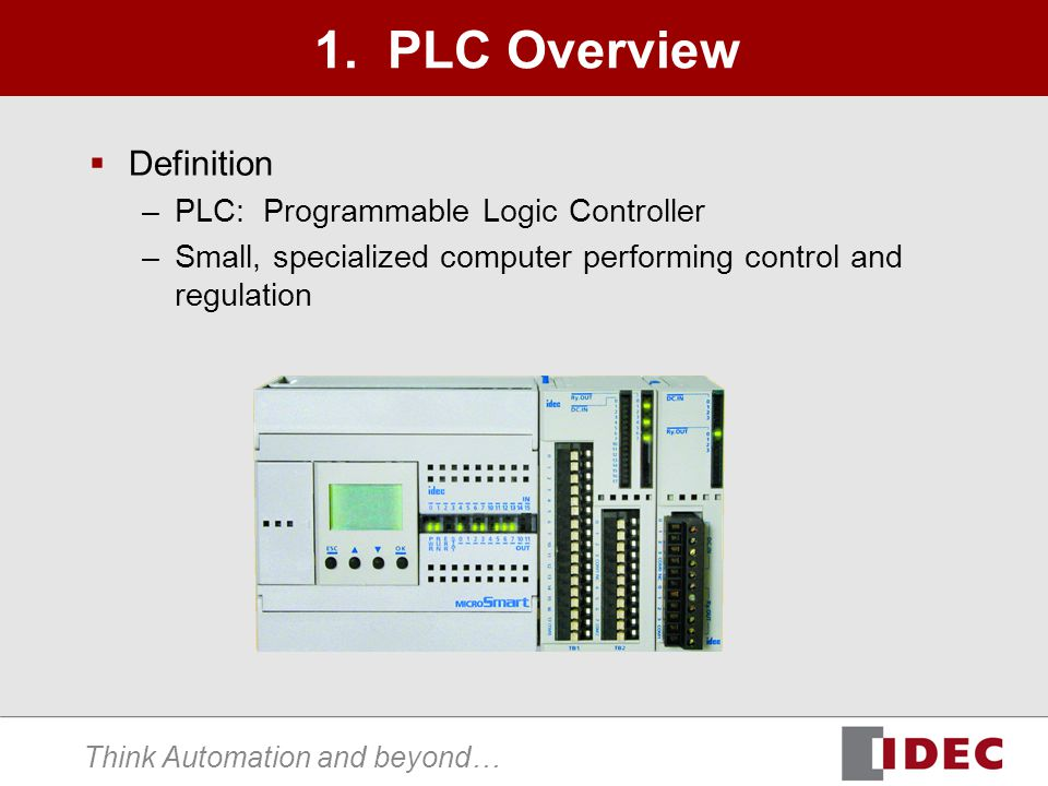 use of programmable logic control in Programmable logic controllers: hardware and programming provides an introduction to plcs and their applications in process and industrial control systems the text begins with basic hardware and programming concepts and.