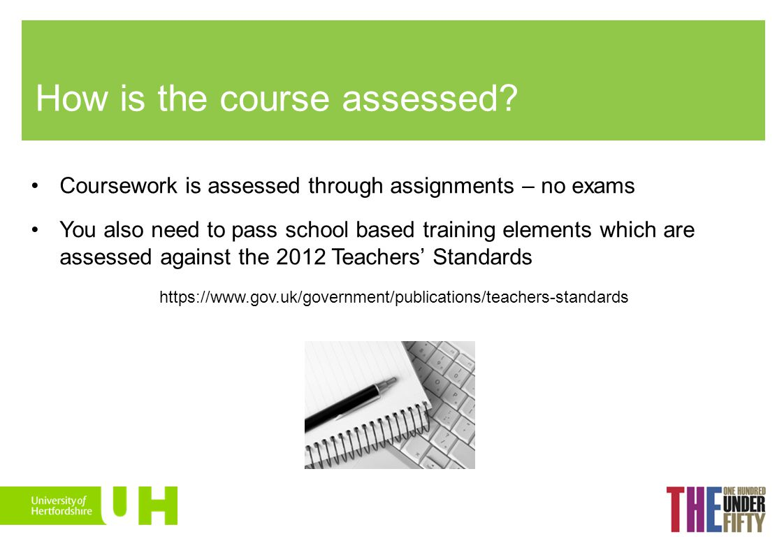 How is the course assessed