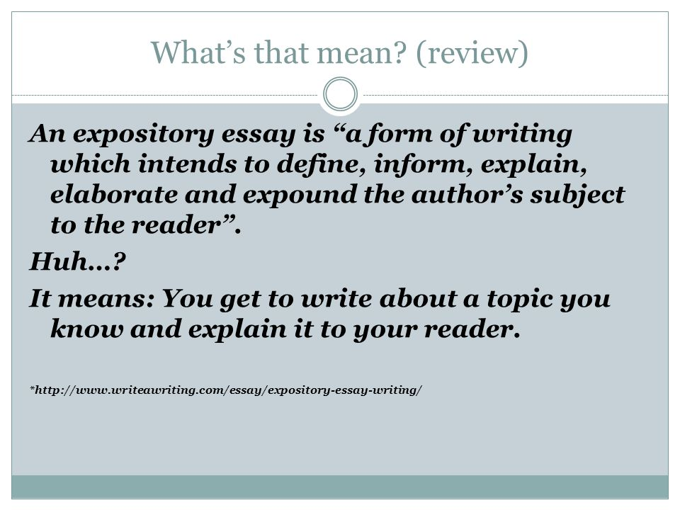 expository essay lesson ppt video online  expository essay lesson 2 2 what s