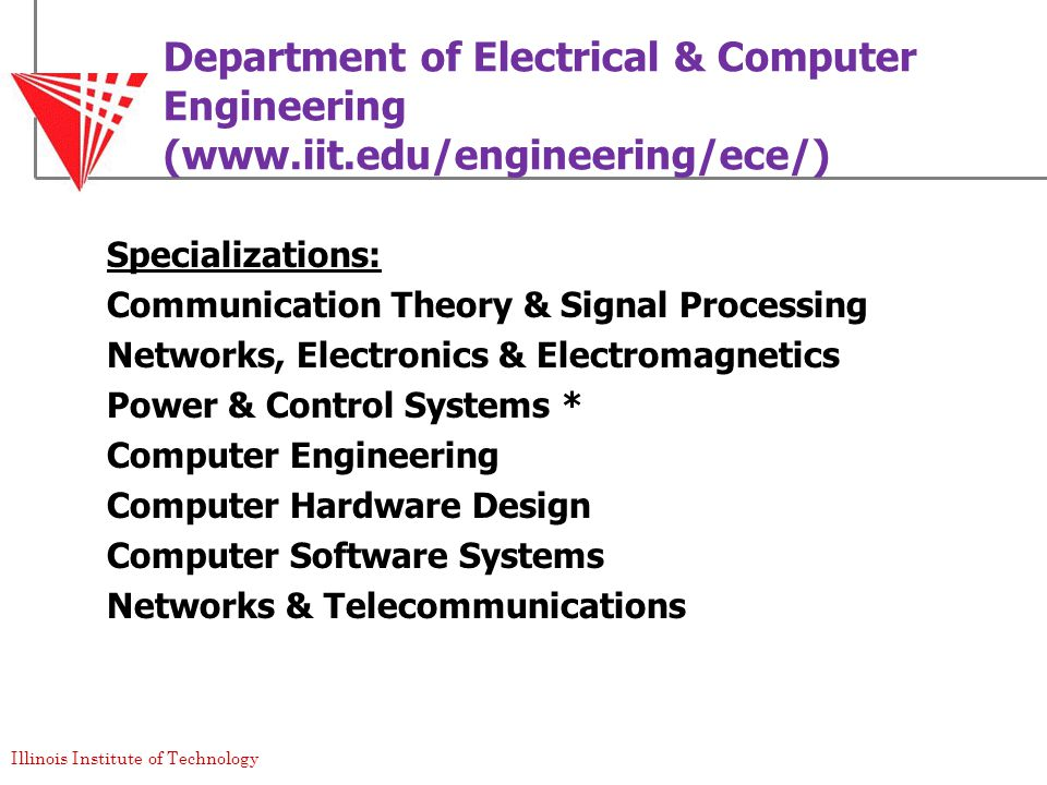 Illinois Institute of Technology Chicago, U.S.A. - ppt download