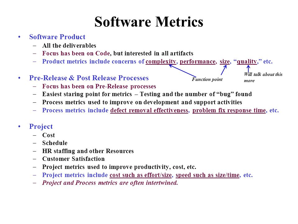 Software Metrics/Quality Metrics - ppt video online download