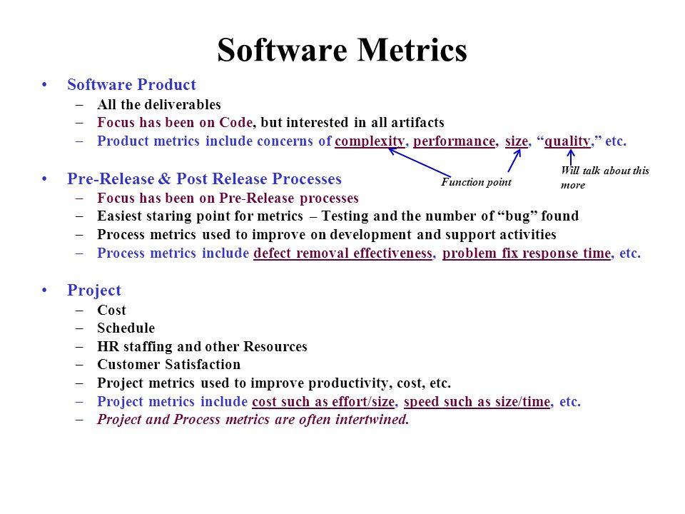 Software Metrics/Quality Metrics - ppt video online download