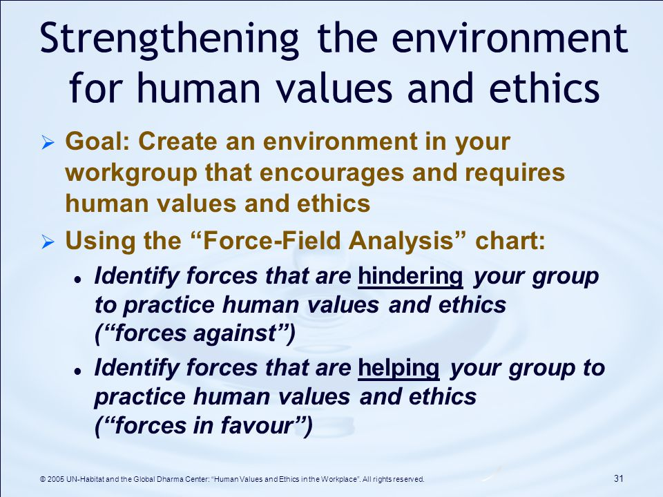 Implementing Values and Ethics in Globalized Business