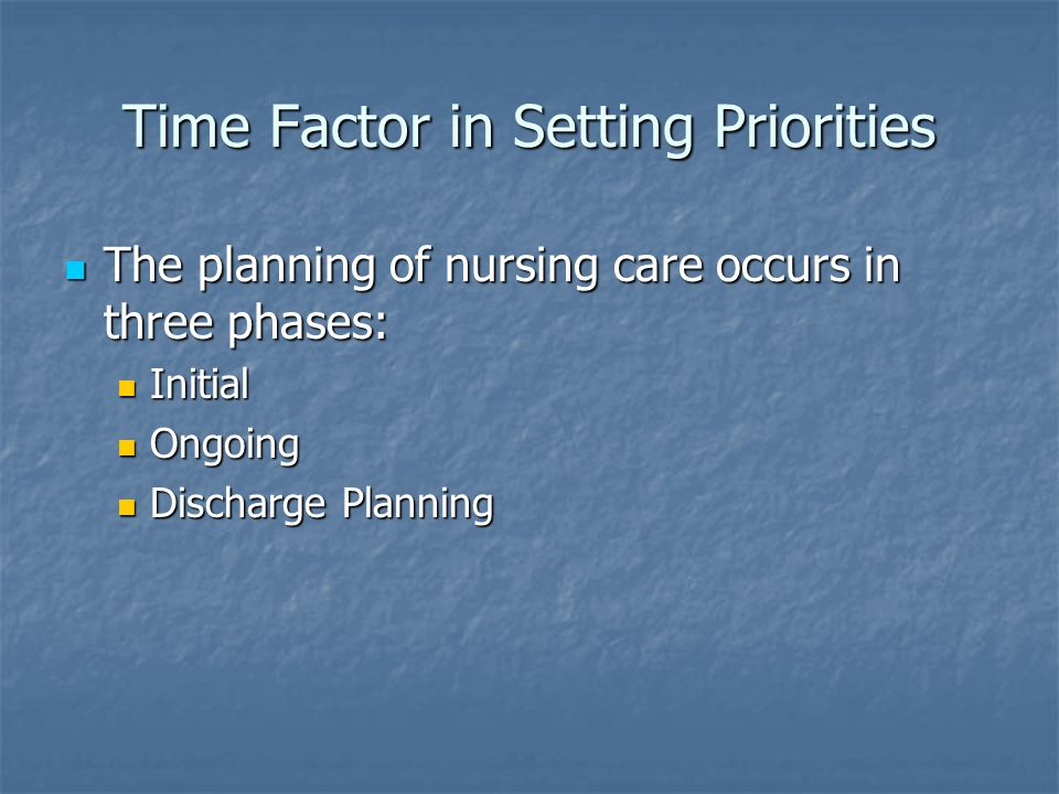 The factors supporting and inhibiting communication in care setting