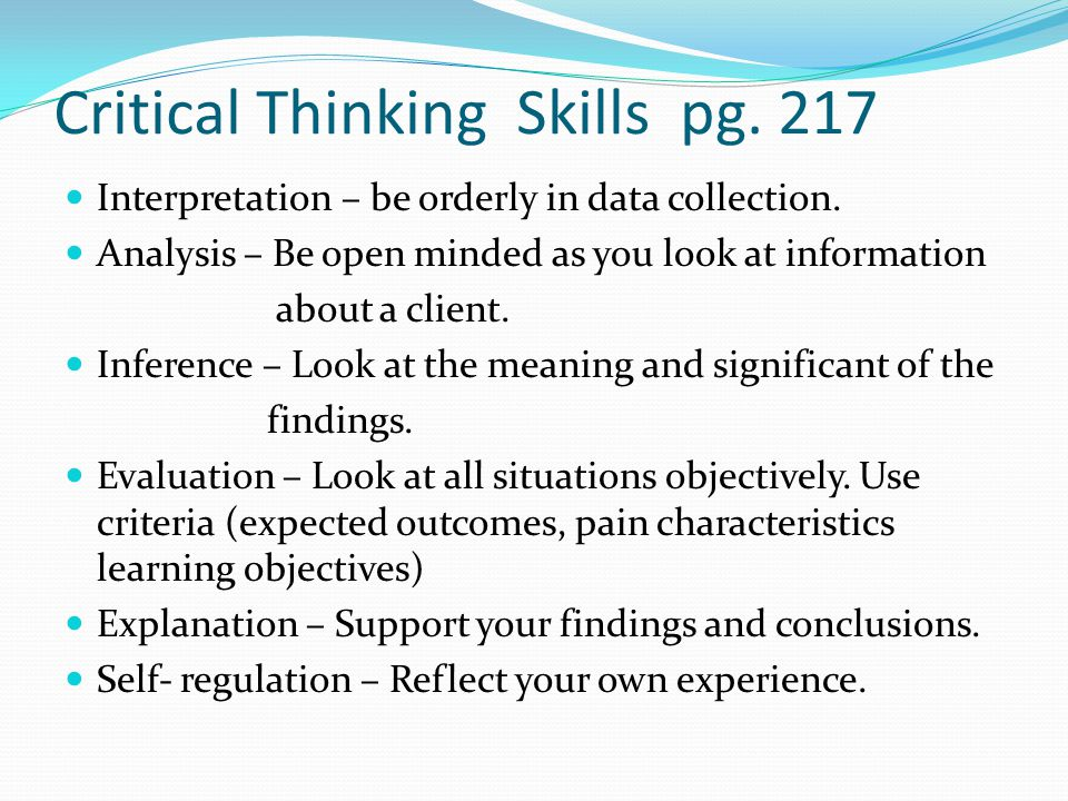 characteristics of critical thinking include 3 list and explain factors a parent can control that lead to nurturing environment include characteristics of critical thinking thinking critical.