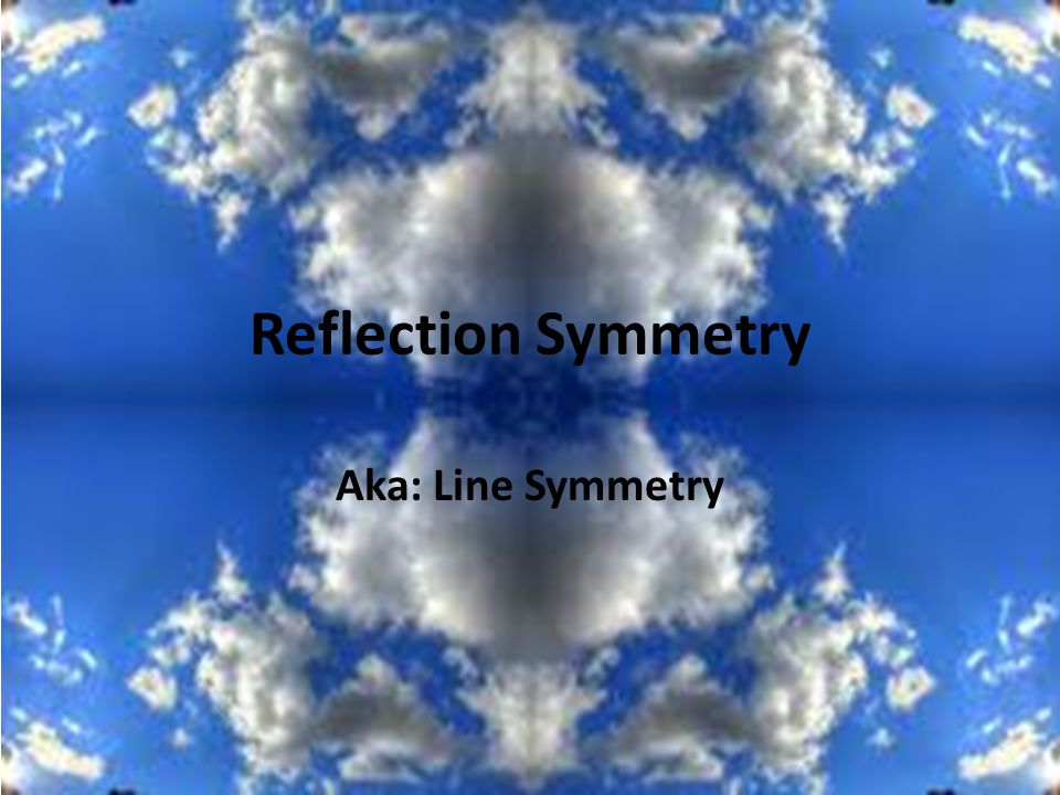 Drawing Lines Of Symmetry On Shapes Worksheet : Reflection symmetry aka line ppt video online download
