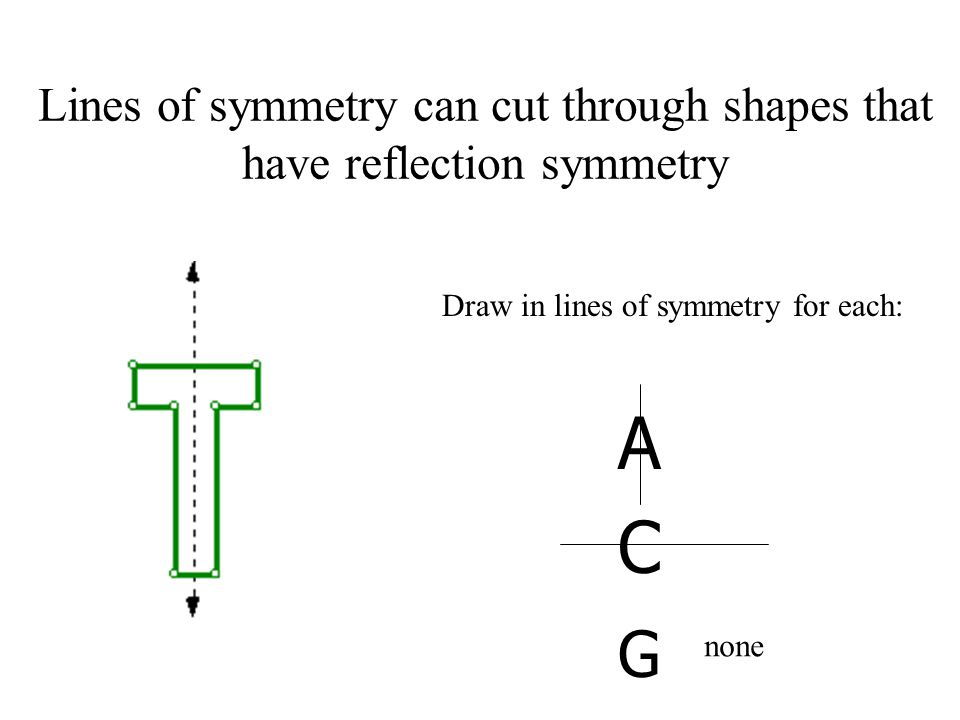 Drawing Lines Of Reflection : Reflection symmetry aka line ppt video online