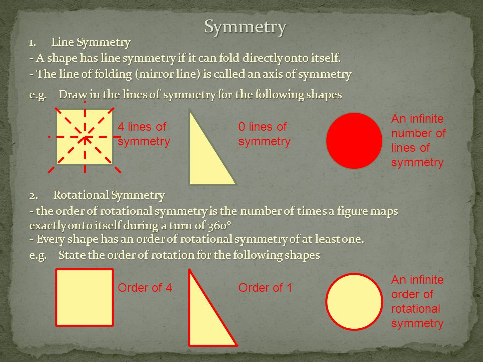 Drawing Lines Of Symmetry : Transformations constructions and 3d drawings ppt video online