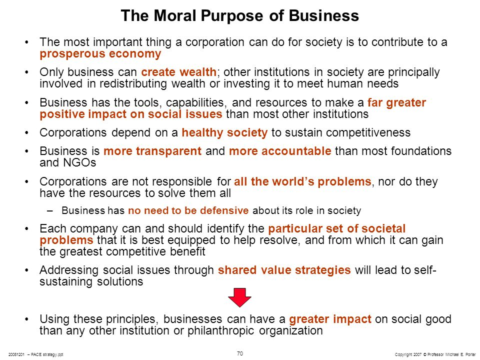 the role of the company as moral agent Ethical decision making and behavior  this chapter surveys the components of ethical behavior—moral  dous amount of money for your company but had an.