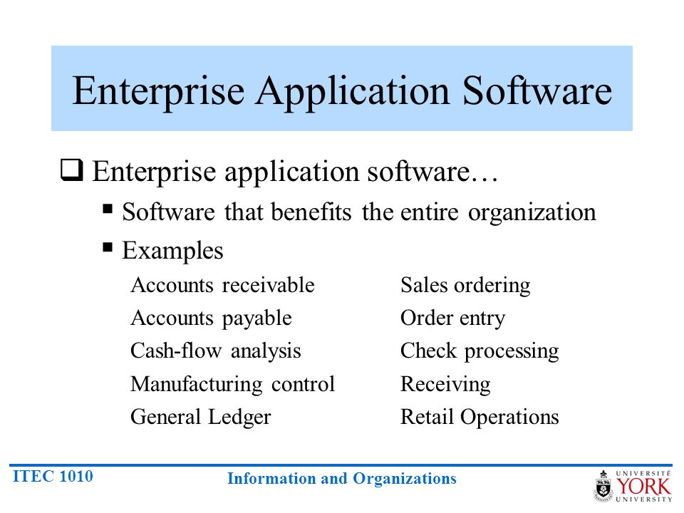 Software Systems And Applications Software Ppt Video