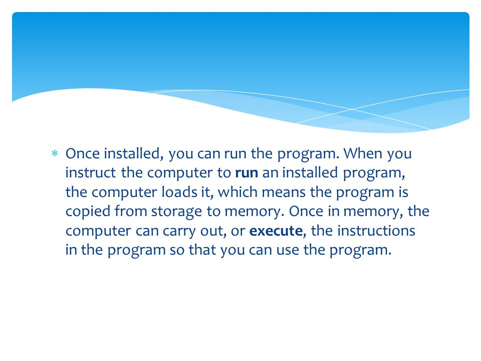 how to find software installed on computer