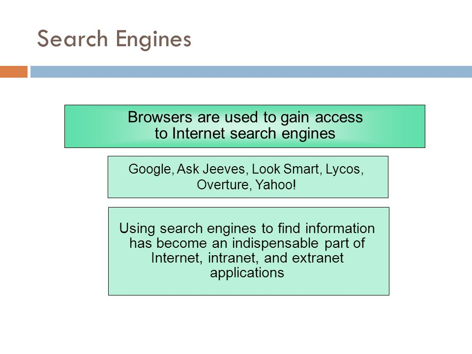 a comparison of lycos and yahoos search engines Google, bing, yahoo comparison & review click to tweet google the search engine is known for solid search results in addition to its social integration, especially, with the use of google.