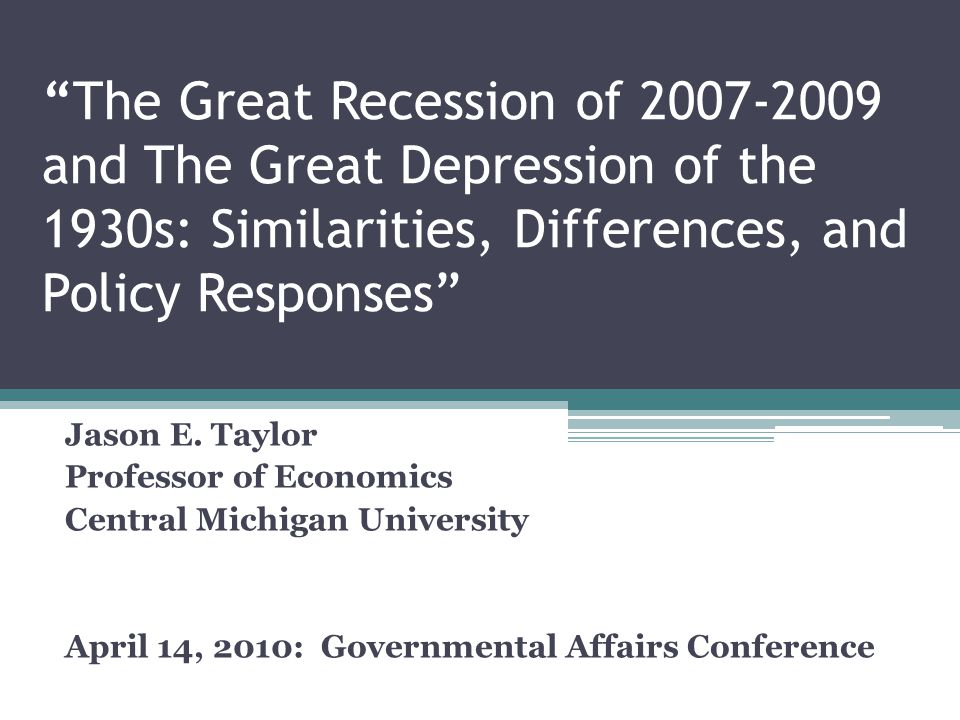 the great recession 2007 2009 At the time, this recession was the worst in the us since the great depression today, most economists believe the great recession of 2007-2009 superseded the 1973-1975 recession in intensity.