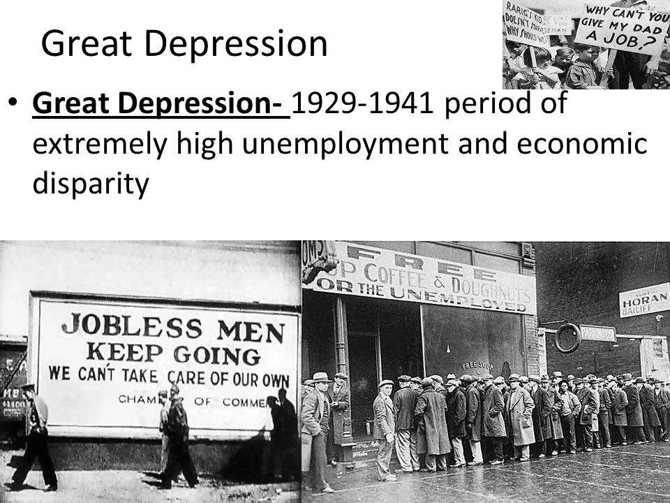 great depression of 1929 Songs of the great depression and the dust bowl migrants subject headings - great depression and world war ii (1929-1945).