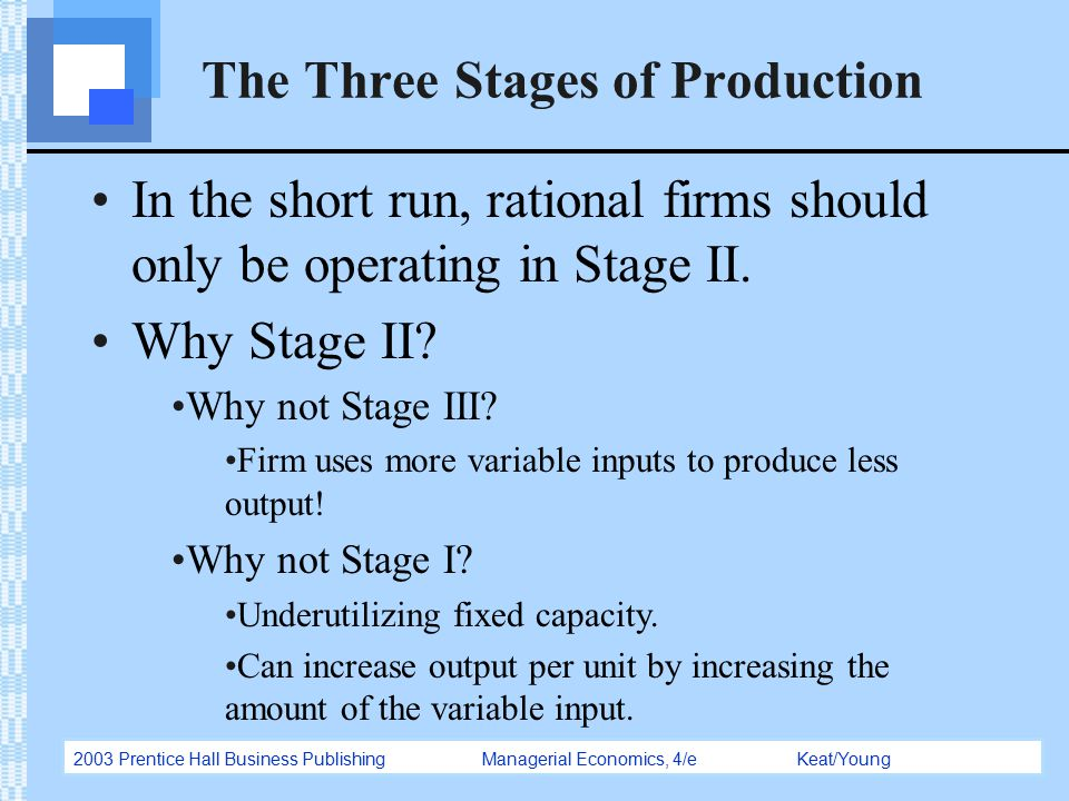 three stages of production The production process the production process refers to the stages (phases) required to complete a media product, from the idea to the final master copy.