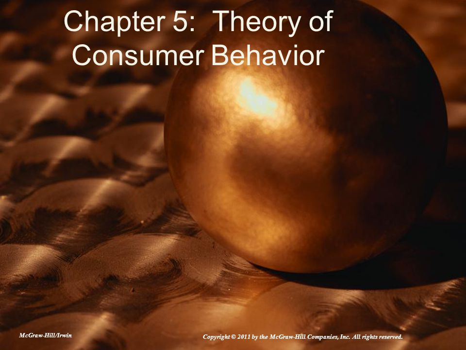 theories of consumer behaviour How can the answer be improved.
