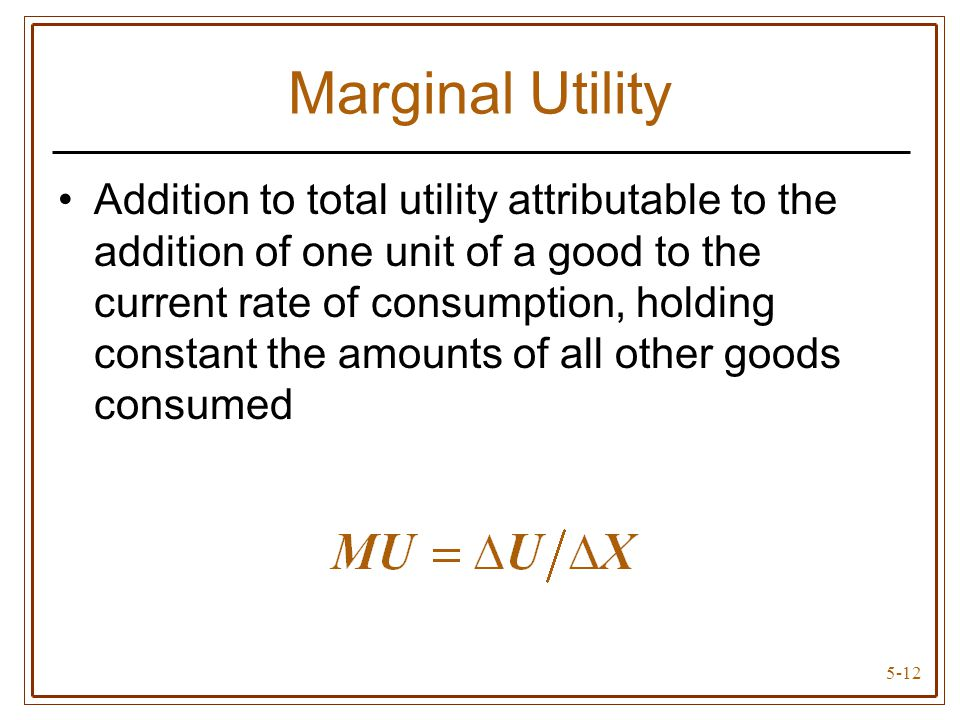 total utility and marginal utility pdf