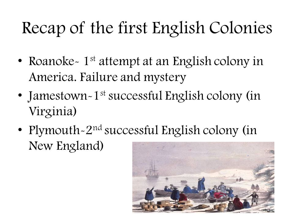 the failure of the english colony in roanoke The early virginia settlement at jamestown, however, represents the  the  roanoke voyages to virginia, although they failed to establish a.