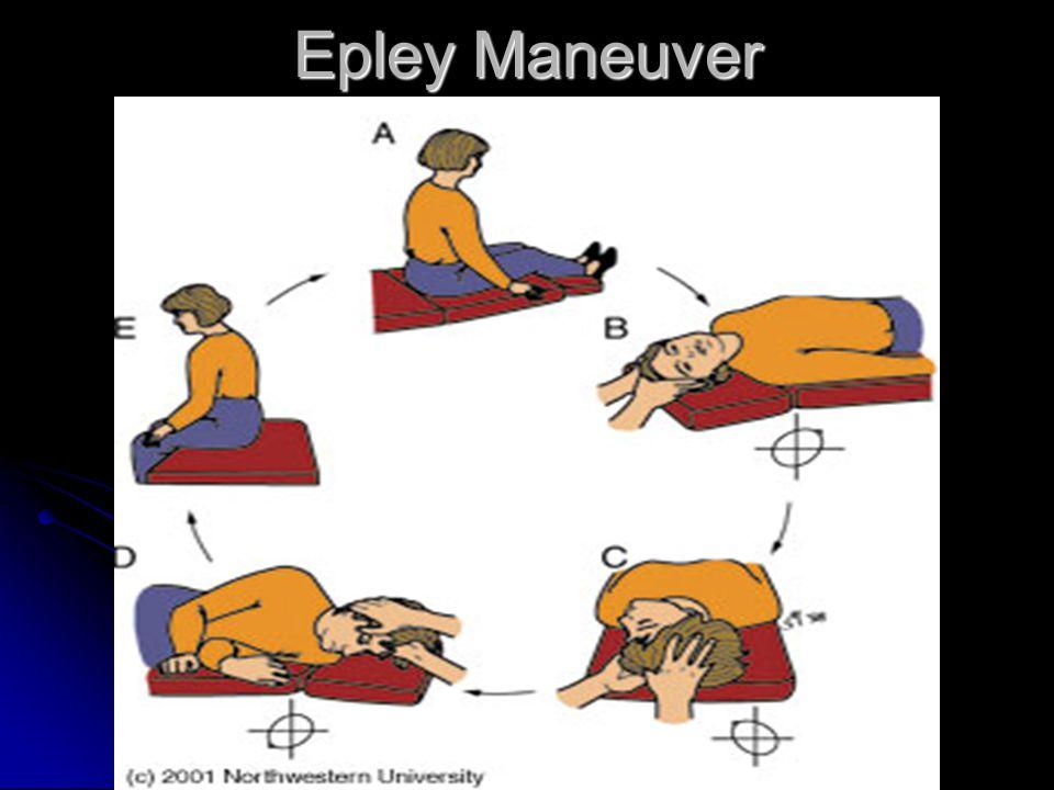 self epley maneuver instructions