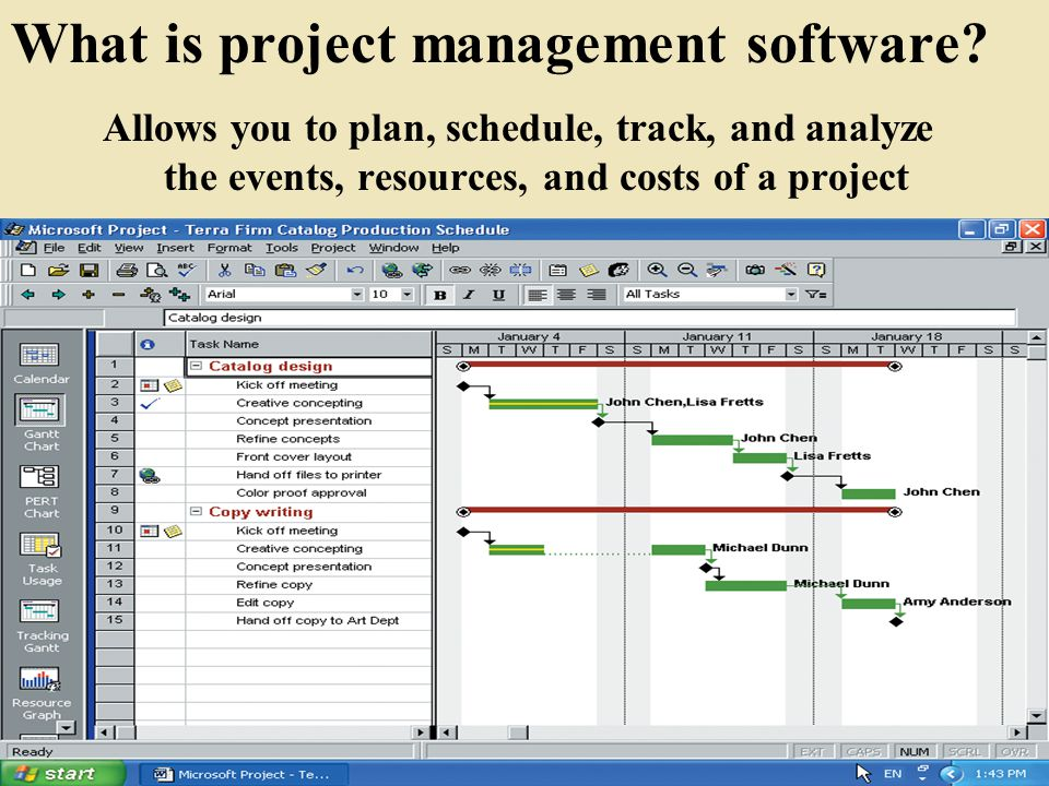 What is project management software