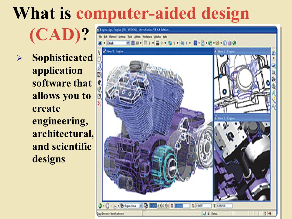 What is computer-aided design (CAD)