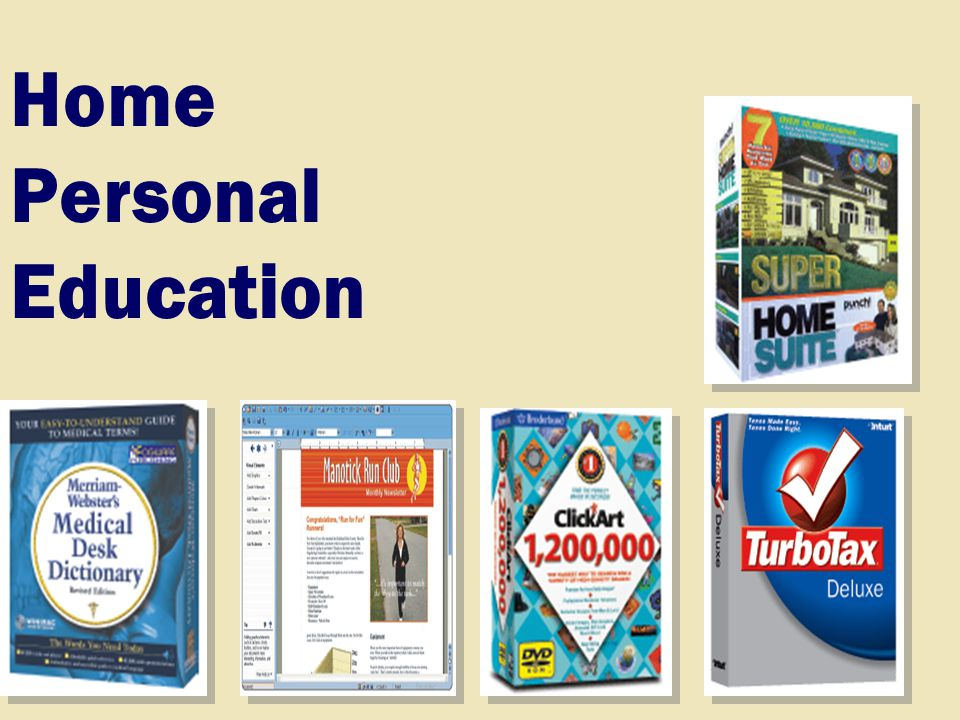 Home Personal Education