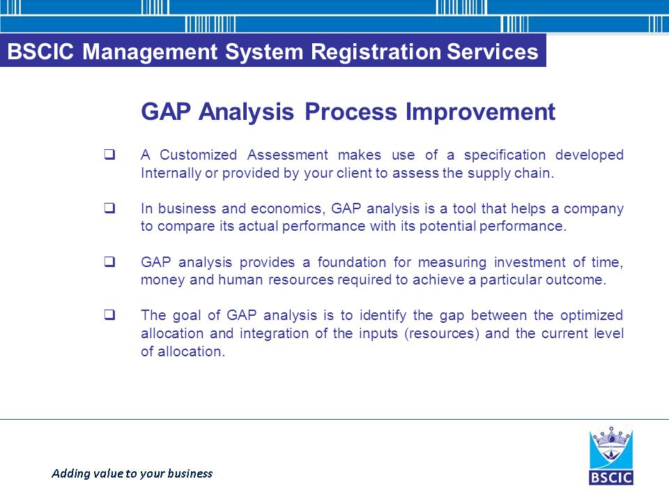 How to implement business process improvement analysis?