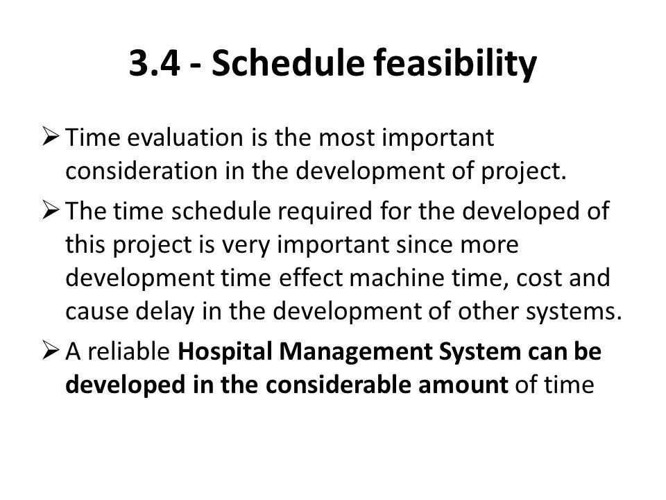 schedule feasibility Template u s department of energy organization title 1 and present the estimated lifecycle costs for the system and the schedule for the project plan provide the primary reasons for rejecting each of the other proposed alternatives if a feasibility review was conducted in place of a.