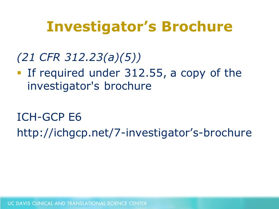 Sponsor Investigator Responsibilities Under An Ind  Ppt Download