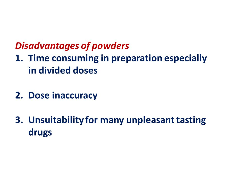 disadvantages drugs Drug tests: their uses and limitationss: their dr tam wai ming, thomas senior chemist,  in order to ascertain whether an individual has administered drugs of abuse or not, drug testing is commonly employed to check for the presence of any drug(s) of abuse or their  disadvantages and time window of detection of different specimens are.
