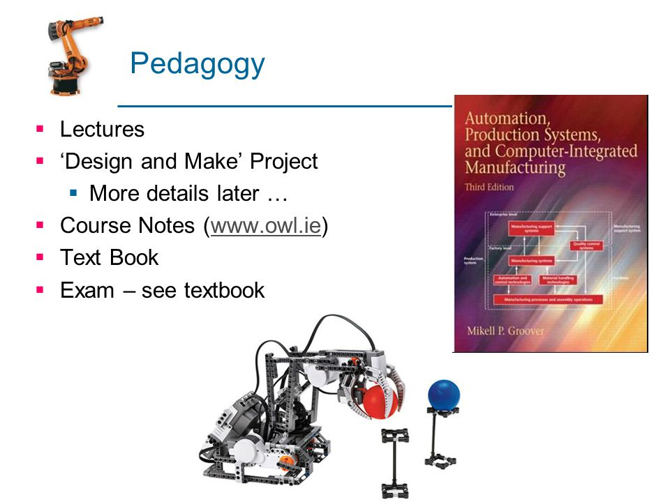 industrial automation lecture notes pdf