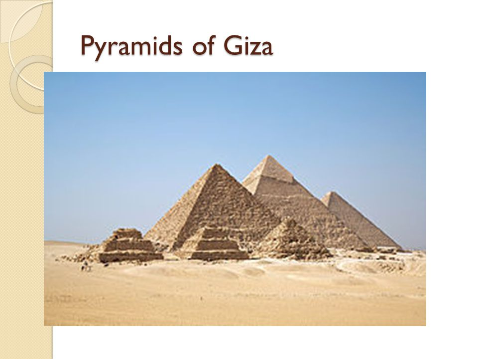 history importance and physical structure of the three pyramids of giza The largest at giza, weighing three tons, were those used to build khafre's pyramid much of the stonework in the giza pyramids came from a quarry barely half a mile to the south of the great.