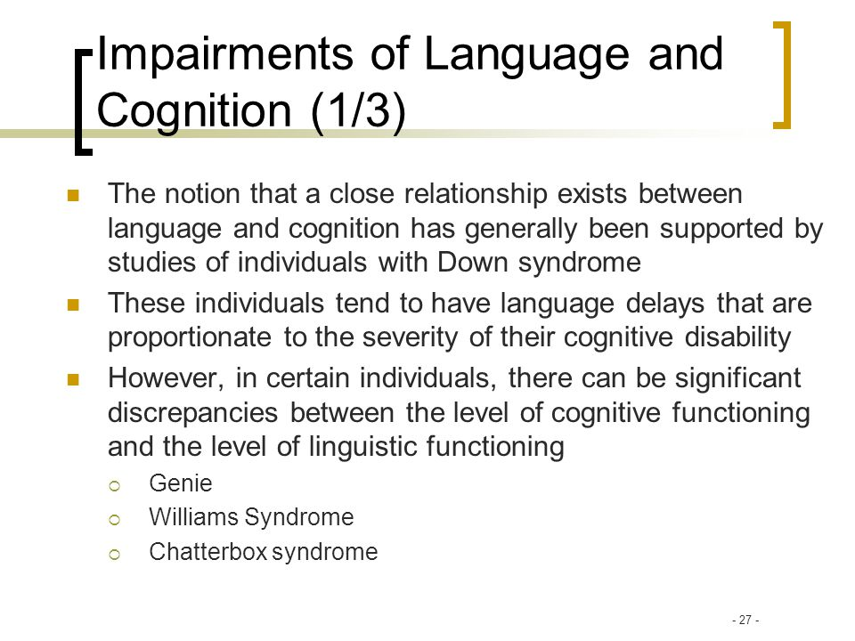 cognition and language relationship to literacy