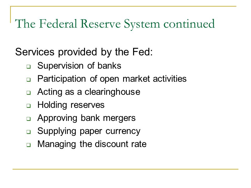 understanding the federal reserve system essay Federal reserve essay - hire the professionals to do your homework for you federal reserve board of the role of better understanding how it influences the central bank federal.