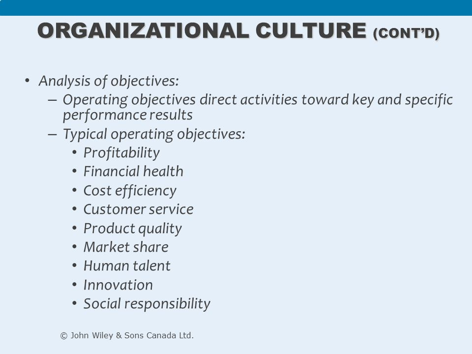 Organisational Culture Analysis Of Oticon