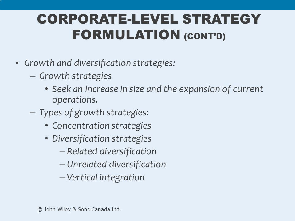 In A Diversified Firm Corporate Level Strategy Is Concerned With