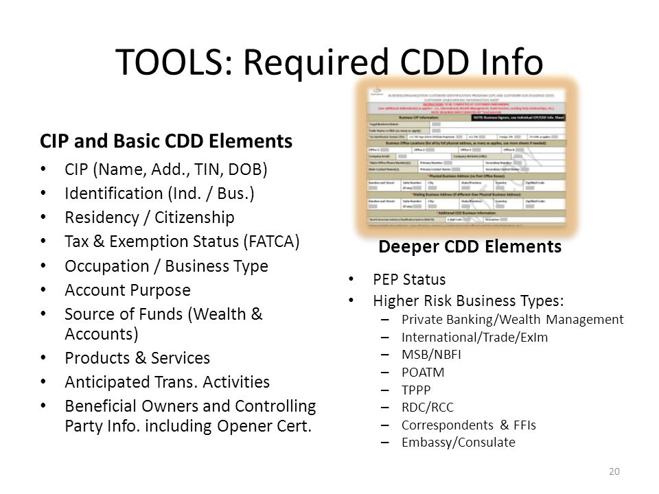 Types Of Ram >> FinCEN's New Customer Due Diligence Requirements - ppt video online download