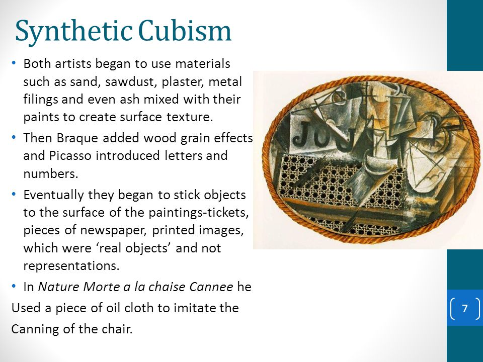 Cubism ppt download - Picasso nature morte a la chaise cannee ...