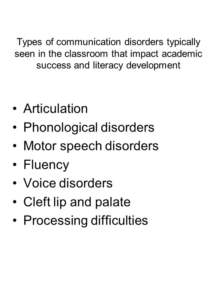 impact of speech and language difficulties on development Myth – aac will negatively impact speech and language  communication for  people who have difficulty with speech aac  speaking or developing language.