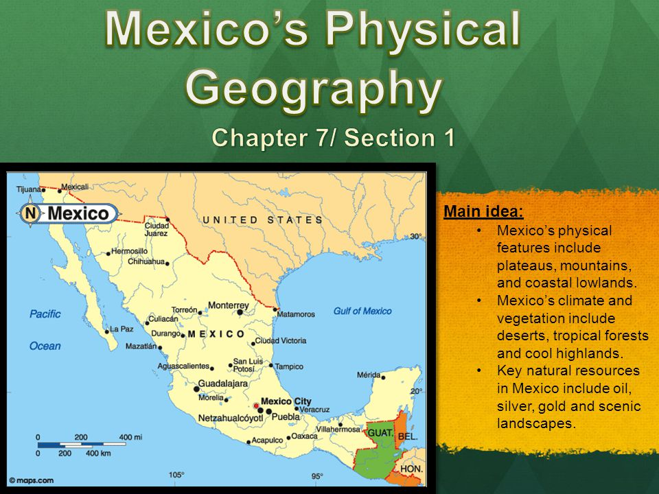 geography climate and the people of mexico The climate of baja makes it a place in the sun the chances for sunny days in winter are reported to be as high as 95%, so as to eclipse even hawaii or florida the reason: the peninsula is situated between the winter storms from the northwest, on the one hand, and the tropical thunderstorms from the south, which rage in summer, on the other hand.