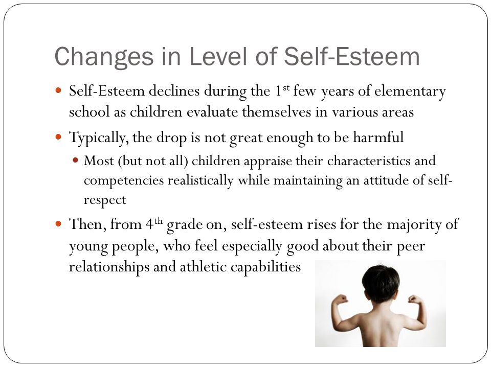 relationship between self esteem and success in school