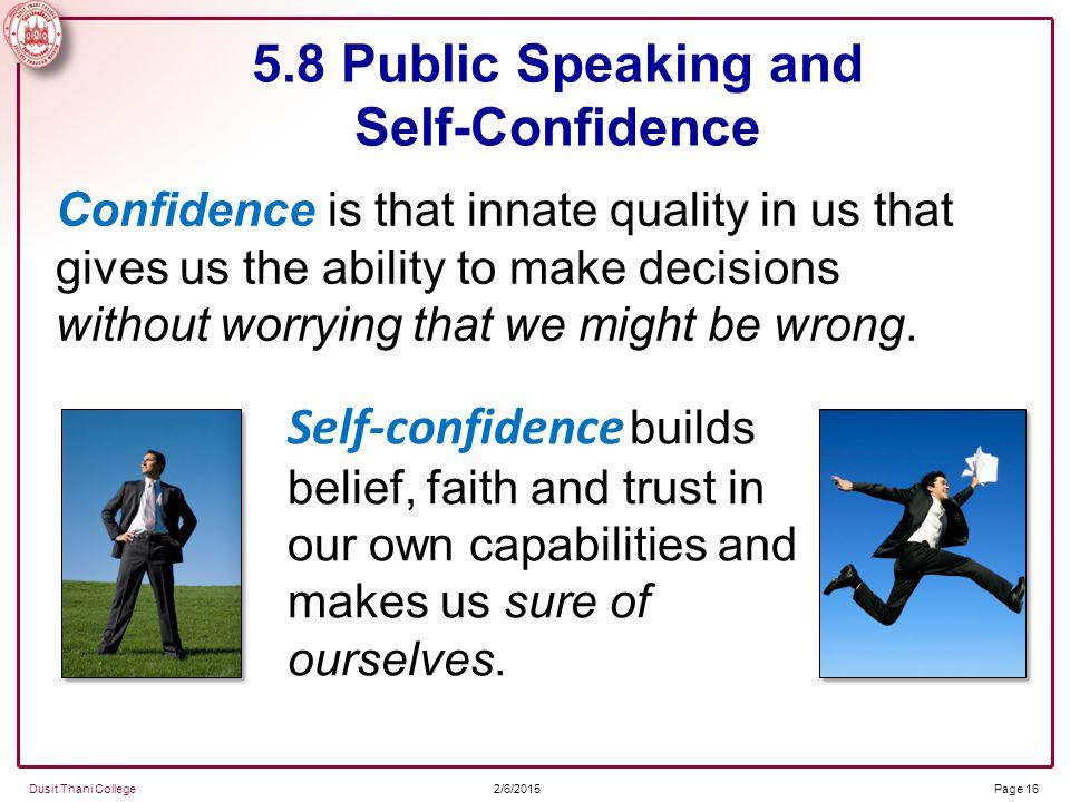 confidence in public speaking pdf
