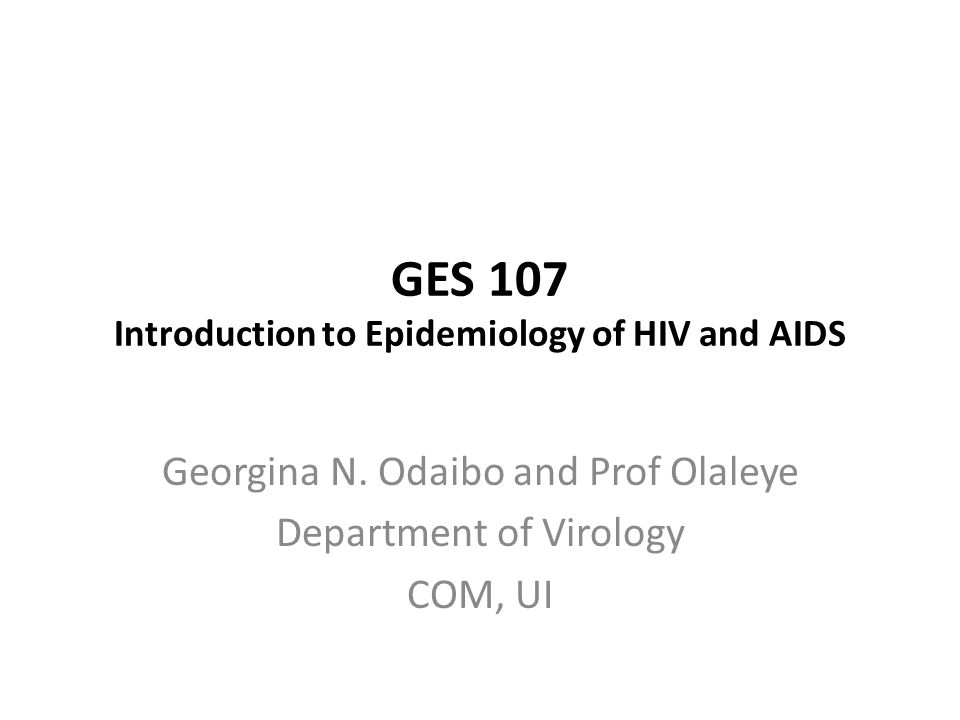 an introduction to the aids virus Hiv-aids presentation  introduction aids is a retroviral disease caused by the human immunodeficiency virus (hiv) characterised by profound immunosuppression opportunistic infections, secondary neoplasms, and  virus is carried in the semen and enters the recipient's body through abrasions in the rectal mucosa.