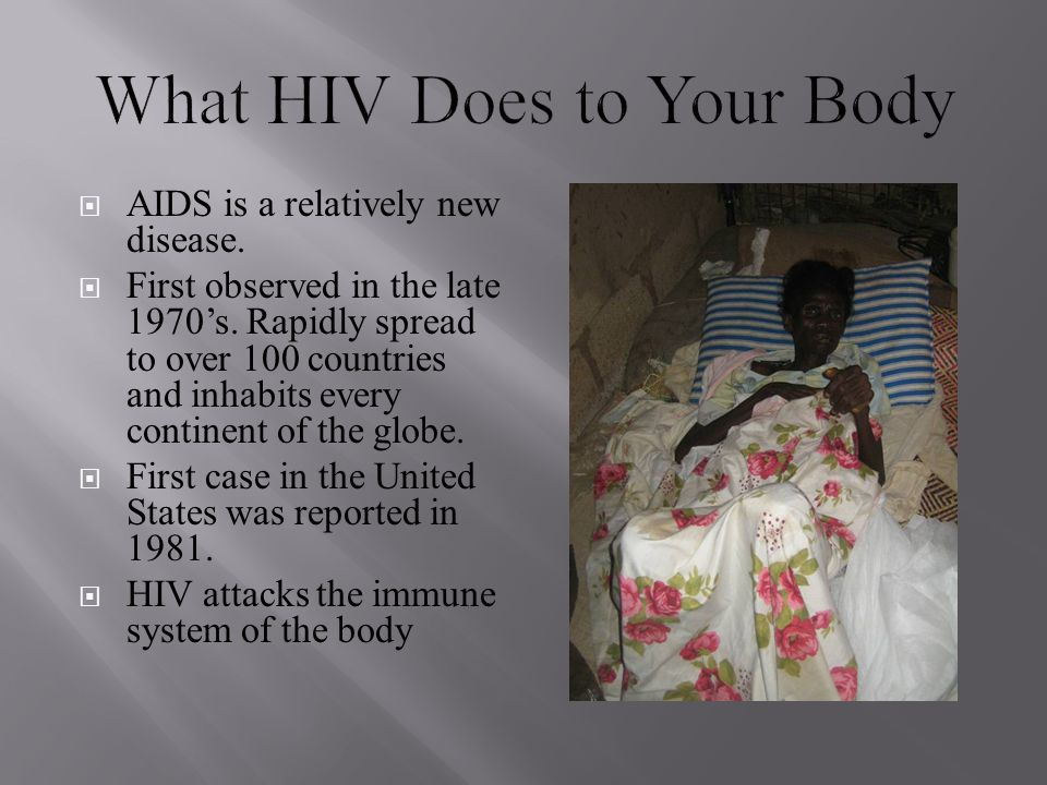What HIV Does to Your Body