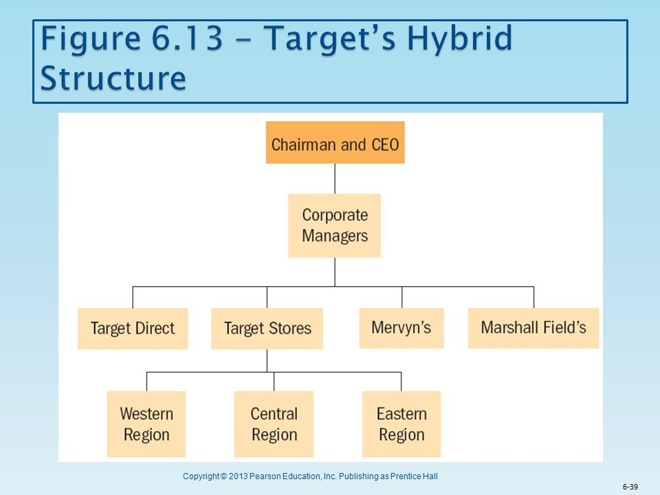 Figure 6.13 - Target's Hybrid Structure