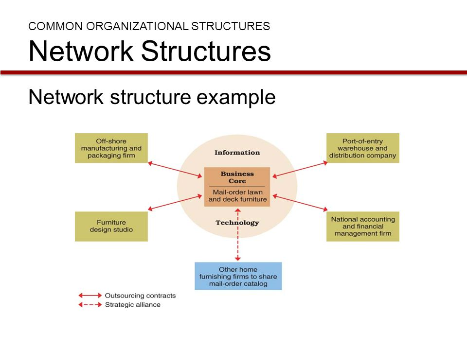 Virtual/Network Organizations