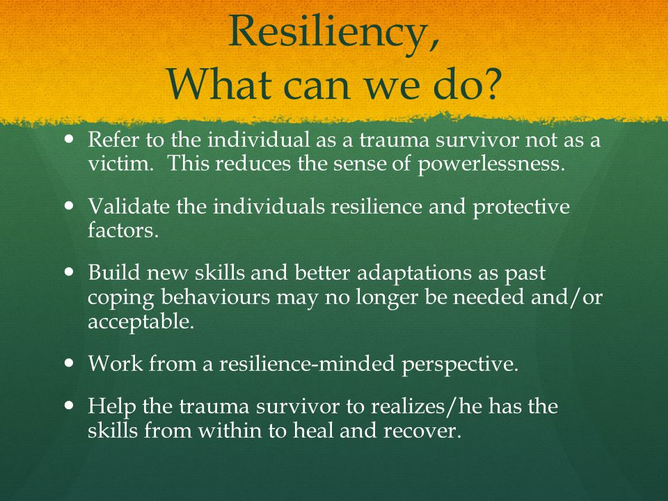 how to help children recover from a traumatic event