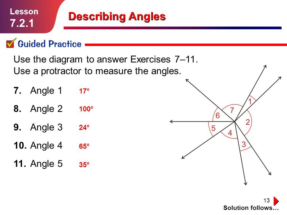 Describing Angles Lesson Ppt Download