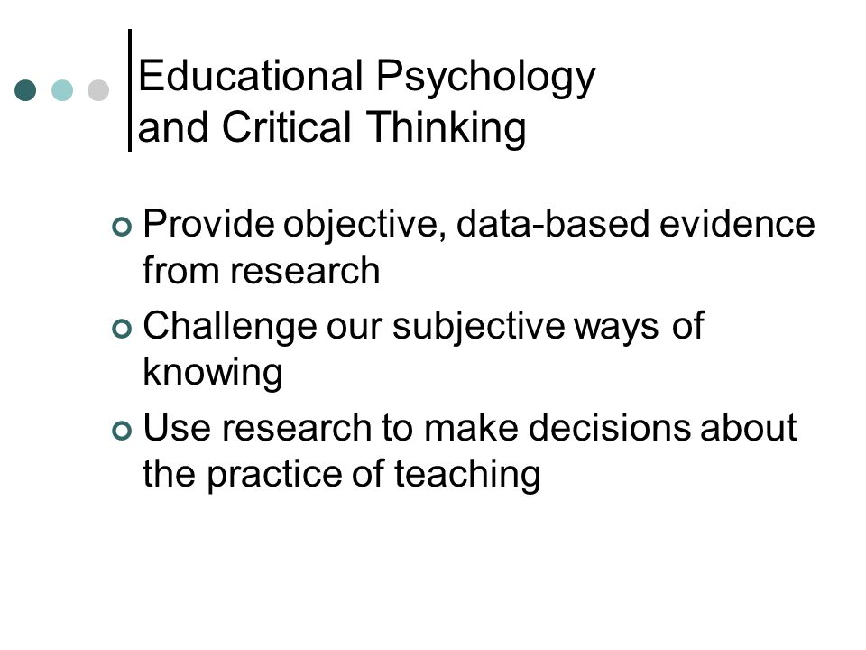 critical thinking and theory based practice 3 transition to practice: critical thinking clinical reasoning prioritizing nursing care may be based on maslow's hierarchy of needs we must meet the.